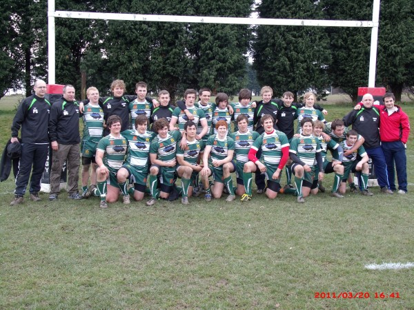 Trentham Junior Colts - National U17 Champions 2010/2011